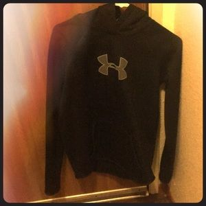 Fleece under armor hoodie